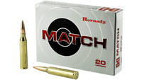 Hornady Match 338 Lapua 250 Grain Boat Tail Hollow