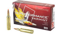Hornady Superformance 243 WIN 58 Grain V-Max 20 Ro