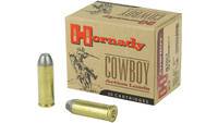 Hornady Ammo .45 long colt 255 Grain lead cowboy 2
