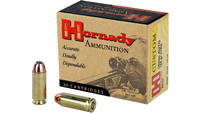 Hornady Custom Ammunition 10MM 155 Grain Hollow Po