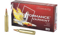 Hornady Ammo Superformance 204 Ruger V-Max 40 Grai