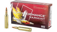 Hornady Ammo Superformance Varmint 243 Win 75 Grai