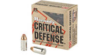 Hornady Ammo Critical Defense 380 ACP FTX 90 Grain