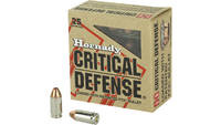 Hornady Ammo Critical Defense 9x18mm Makarov 90 Gr