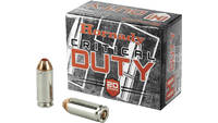 Hornady Ammo Critical Duty 10mm 175 Grain 20 Round
