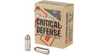 Hornady Ammo Critical Defense 40 S&W 165 Grain 20