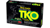 Brenneke Shotshells TKO 12 Gauge 2.75in Lead Free