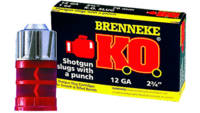 Brenneke Shotshells K.O. Lead 12 Gauge 2.75in 1oz