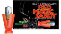 "Brenneke usa 12 Gauge 3"" red magic sabot 1oz."