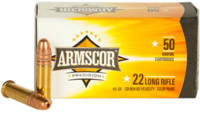 Armscor Rimfire Ammo .22 Long Rifle (LR) 40 Grain
