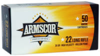Armscor Rimfire Ammo HV .22 Long Rifle (LR) 36 Gra