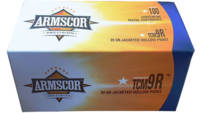 Armscor Ammo Value Pack 22 TCM 9R 39 Grain JHP 100