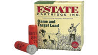 Estate Shotshells Game Target 20 Gauge 2.75in 7/8o