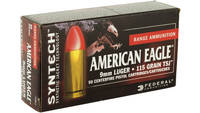 Federal Ammo American Eagle 9mm 115 Grain Total Sy
