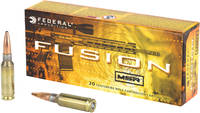 Federal Ammo Fusion MSR 6.5 Grendel 120 Grain SP 2