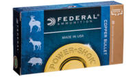 Federal Ammo Power-Shok 300 Win Mag 180 Grain Copp