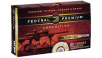Federal Ammo Gold Medal 308 Win (7.62 NATO) 185 Gr