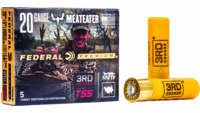 Federal Shotshells 3 Rounds Deg Turkey 20 Gauge 3i
