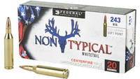 Federal Ammo Non-Typical 243 Winchester 100 Grain