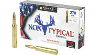 Federal Ammo Non-Typical 270 Winchester 130 Grain