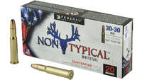 Federal Ammo Non-Typical 30-30 Winchester 170 Grai