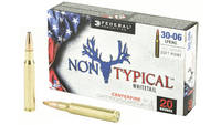 Federal Ammo Non-Typical 30-06 Springfield 180 Gra