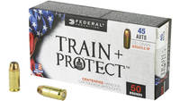 Federal Ammo Train and Protect 45 ACP 230 Grain Ve