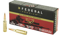 Federal Ammo Gold Medal 224 Valkyrie 90 Grain Sier