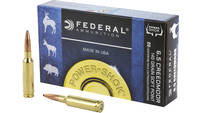 Federal Ammo Power-Shok 6.5 Creedmoor 140 Grain JS