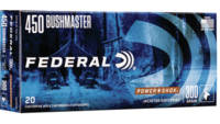 Federal Ammo Power-Shok 450 Bushmaster 300 Grain J