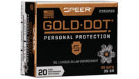 Speer Ammo Gold Dot Personal Protection 25 ACP 35