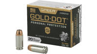 Speer Ammo Gold Dot Personal Protection 40 S&W