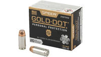 Speer Ammo Gold Dot Personal Protection 40 S&W 165