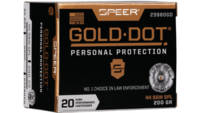 Speer Ammo Gold Dot Personal Protection 44 Special