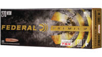 Federal Ammo 270 Win Short Mag (WSM) 130 Grain Bar