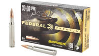 Federal Ammo 30-06 Springfield 168 Grain Berger Hy