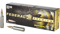Federal Ammo 300 Win Short Mag (WSM) 185 Grain Ber