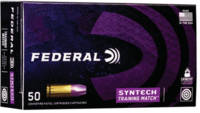 Federal Ammo Syntech Training Match 9mm 124 Grain