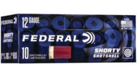 Federal Shotshells Shorty Target 12 Gauge 1.75in S