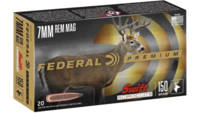 Federal Ammo 7mm Magnum 150 Grain Swift Scirocco I