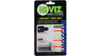 HiViz Gun Sight Comp Sight 8 Pipes Fits Most Rib S