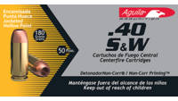 Aguila Ammo 40 S&W 180 Grain HP 50 Rounds [1E4