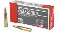 Aguila Ammunition Rifle 762X51 150 Grain Full Meta
