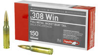 Aguila Ammunition 308 Win 150 Grain Full Metal Jac