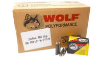 Wolf Ammo 223 Remington (5.56 NATO) 55 Grain FMJ 5