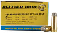 Buffalo Bore Ammo 45 Colt (LC) Hard Cast 255 Grain