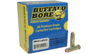 Buffalo bore Ammo .357 magnum heavy 125 Grain jhp