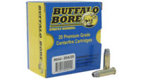 Buffalo bore Ammo .38 special +p 158 Grain lead sw