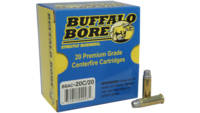 Buffalo bore Ammo .38 special 158 Grain lead swc-h