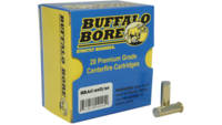 Buffalo Bore Ammo 38 Special Hard Cast Wad Cutter